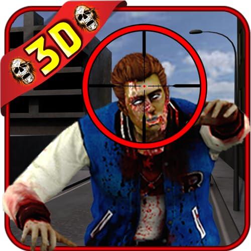 tiro franco-atirador zombie