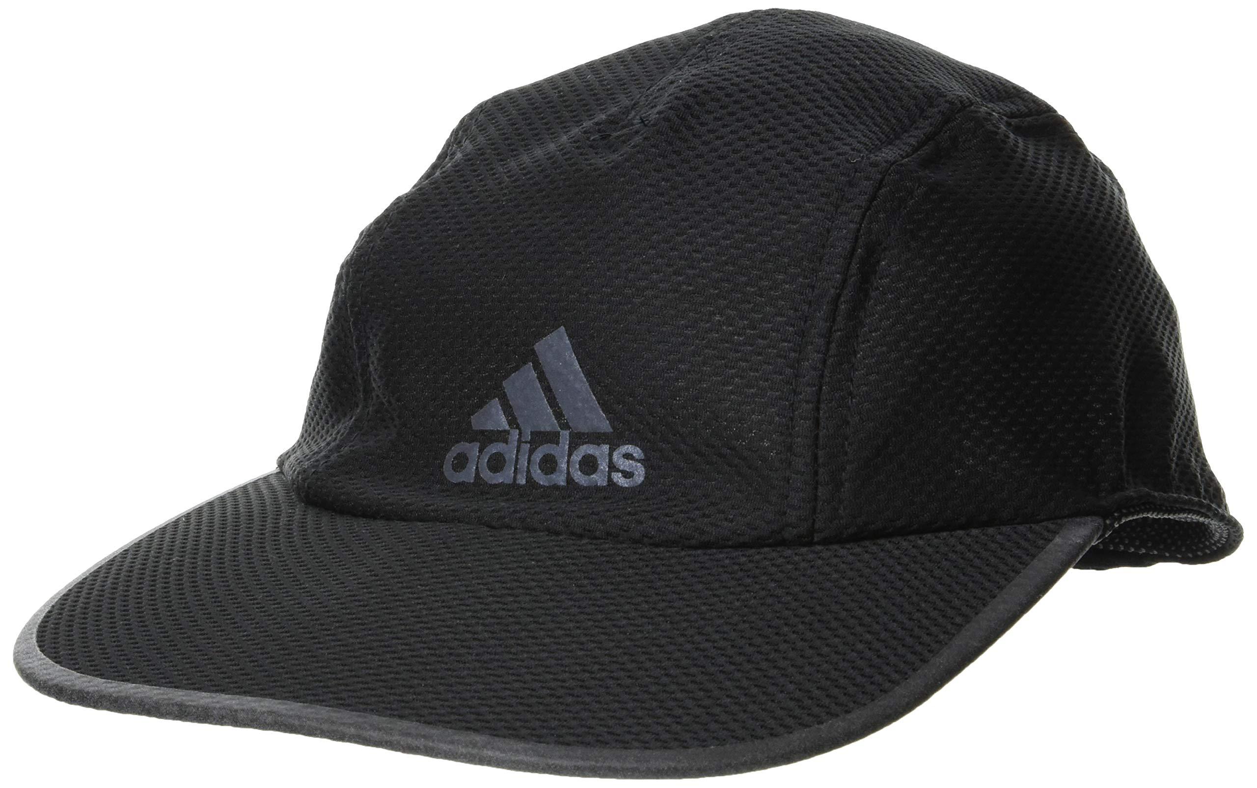 adidas Run MES CA A.R. Hat, Black/Black/Black Reflective, OSFM
