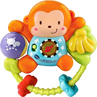 VTech Lil Critters Singing - Monkey Rattle, Multi-Colour