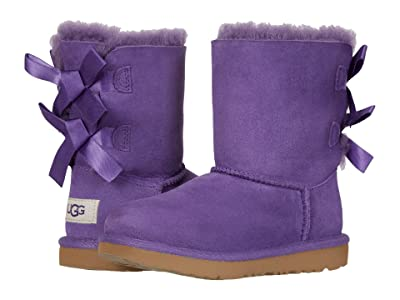 UGG Kids Bailey Bow II (Little Kid/Big Kid) (Violet Bloom) Girls Shoes