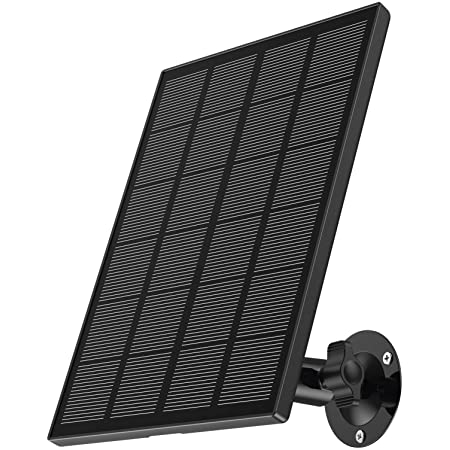Solar PanelCompatible with Zumimall Outdoor Wireless CameraGX1S/Q1PRO,Waterproof Solar Panel with 10ft Charging Cable, Continuous Power Supply for Security Camera (No Camera)