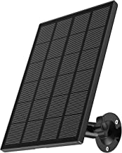 Solar PanelCompatible with Zumimall Outdoor Wireless CameraGX1S/Q1/Q1N/Q1PRO,Waterproof Solar Panel with 10ft Charging ...