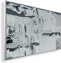 Könighaus - Calefacción por infrarrojos, calidad HD, con imágenes de 200+, con termostato, programa de 7 días, 450 W, marc...