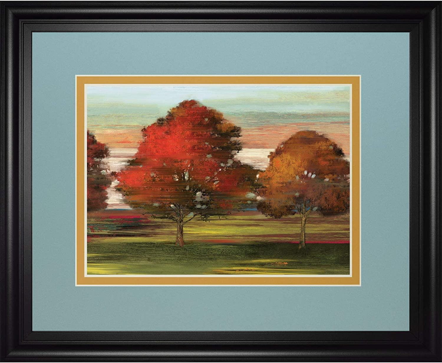 Contemporary Home Living Trees in shop Motion Hanging Art OFFicial mail order Frame Wall