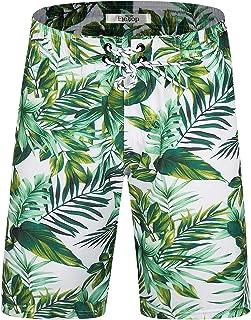 XS-6XL INTERESTPRINT Mens Swim Trunks Quick Dry Social Media Theme Swimwear Board Shorts