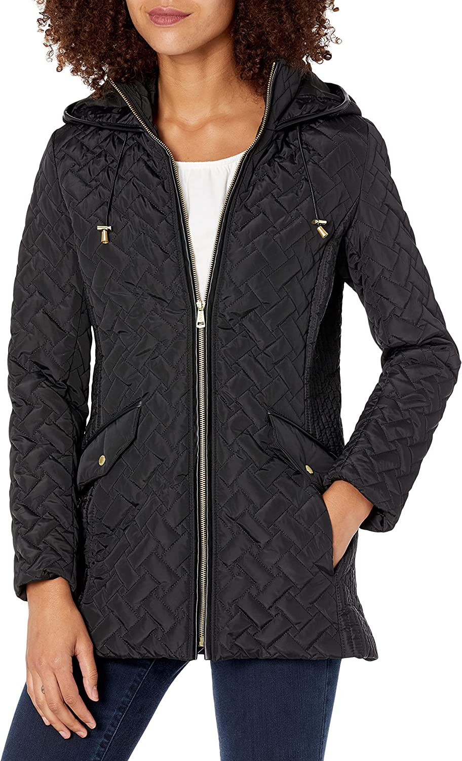 Cole Haan Women's Free shipping anywhere in the nation Jacket Quilted Atlanta Mall Barn