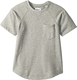 Raglan Short Sleeve Shirt (Big Kids)