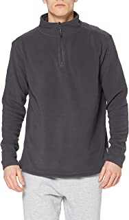 Stedman Apparel Men's Active Fleece/ST5020 Half-Zip Long Sleeve Sweatshirt