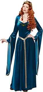 Women's Lady Guinevere Costume/Teal