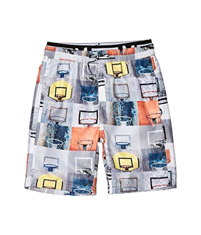 Molo Neal Swim Shorts (Little Kids/Big Kids) (Basket Check) Boy