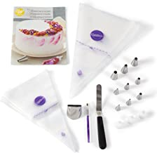 Wilton How to Decorate Cakes and Desserts Kit -39-Piece Cake Decorating Kit with Spatula, Decorating Brush, Decorating Bags, Decorating Tips, Recipes and Tutorial Video