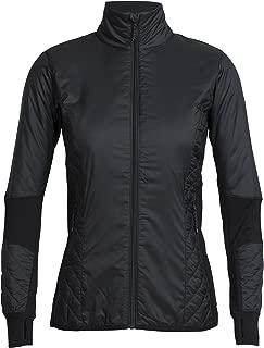 Icebreaker Merino Women's Helix Long Sleeve Zip Down Alternative Outerwear Coat