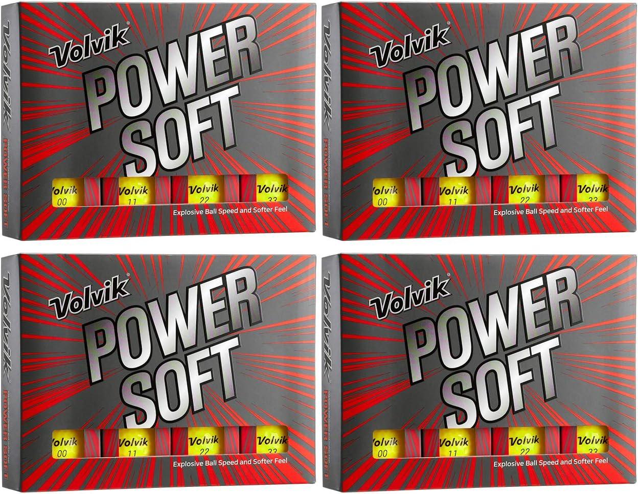 Volvik Power Soft Explosive Ball Speed Deluxe Golf Balls 4 Fort Worth Mall Bundle Dozen