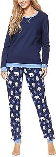 Merry Style Pigiama Manica Lunga Donna MS10-230
