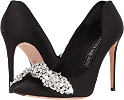 Bow Embroidered Heart Pump