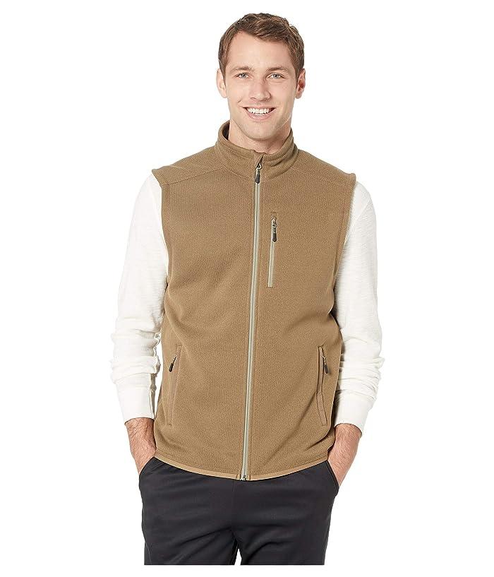 Filson Ridgeway Fleece Vest (Field Olive) Men
