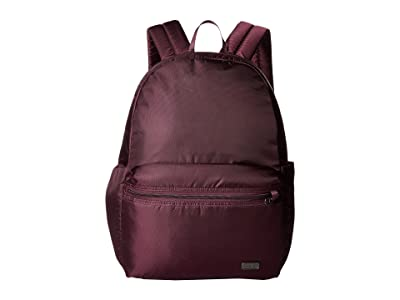 Pacsafe Daysafe Anti-Theft Backpack (Blackberry) Backpack Bags