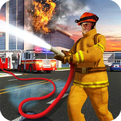 amerikanisch Feuerwehrmann Rettungswagen Simulator Feuerwehrmann Spiele