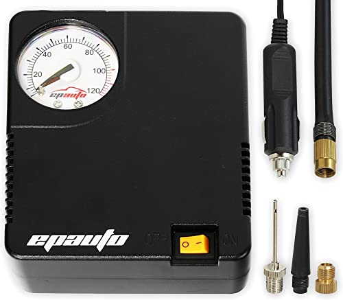 discount EPAUTO 12V DC Auto Portable discount Air Compressor Pump/Tire Inflator for 2021 Compact/Midsize Sedan SUV outlet online sale