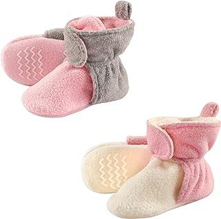 Hudson Baby Unisex-Baby Cozy Fleece Booties
