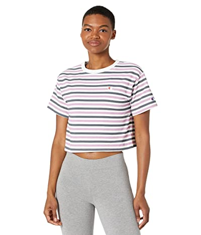 Champion LIFE Heritage Cropped T-Shirt All Over Print