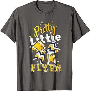 Pretty Little Flyer Cheer Shirt. Cheerleading Team Gift
