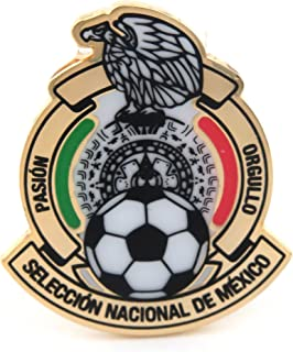 JF Sports Canada International Soccer Mexico National Team Primary Logo Pin, Small, Multicolor