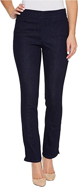 Alina Pull-On Ankle Jeans in Rinse