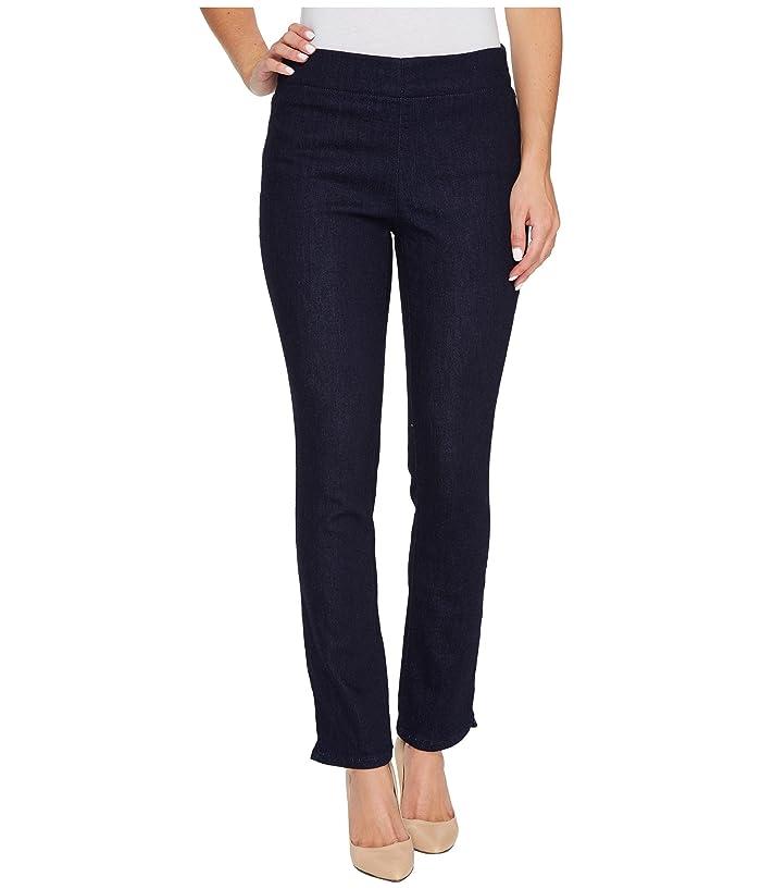 NYDJ Womens Alina Skinny Ankle Jeans with Hem