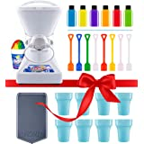 Little Snowie 2 Ice Shaver Bundle - Premium Shaved Ice Machine and Snow Cone Machine with Snowcone Syrup Samples