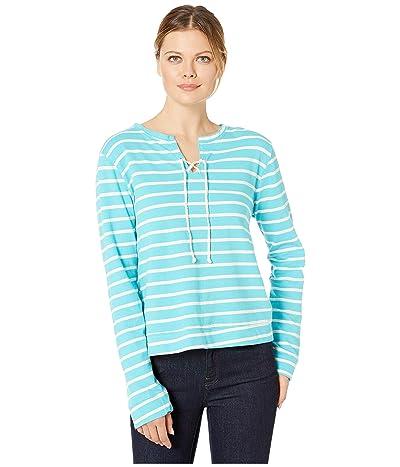 Fresh Produce Weekend Hilton Sweatshirt (Luna Turquoise) Women