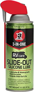 3-IN-ONE Rvcare Slide-Out Silicone Lube with Smart Straw Sprays 2 Ways, 11 OZ