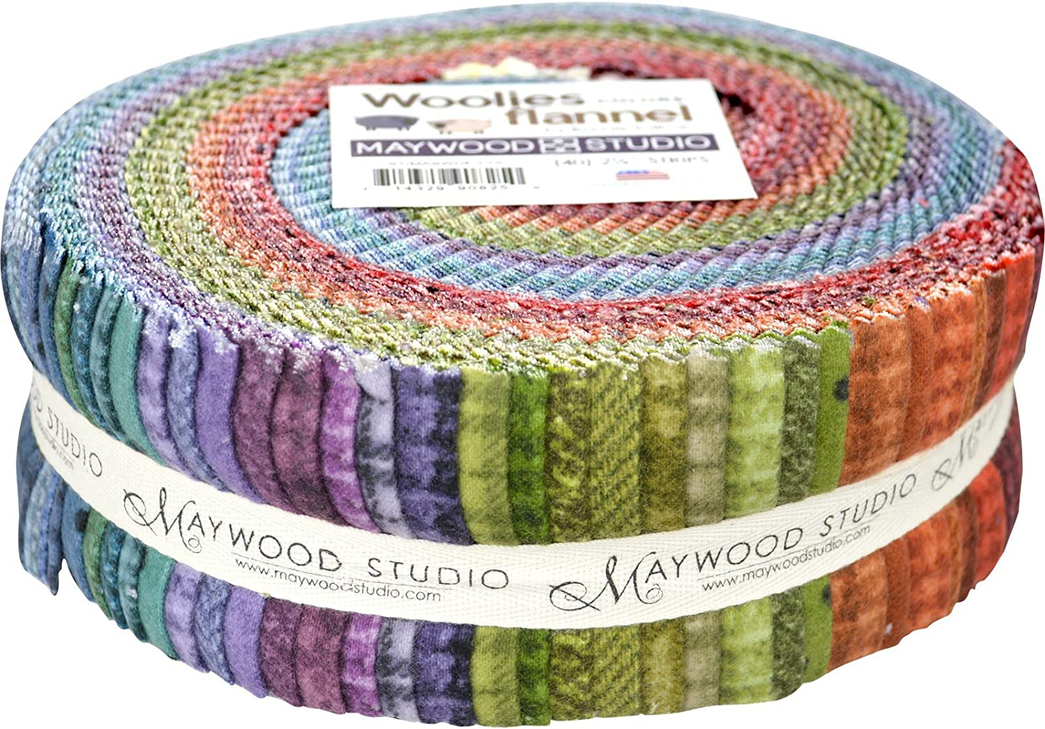 Colorado Springs Mall Bonnie Sullivan Woolies Flannel 2.5-inch Colors Strips All items free shipping 40