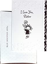 """Blue Mountain Arts Greeting Card """"I Love You Sister"""" Is A Perfect Christmas, Birthday, Or """"Thinking of You"""" Card between S..."""