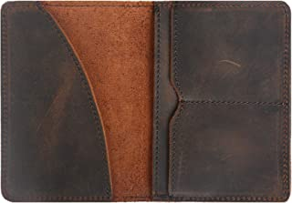 Leather Passport Wallets Holder Passport Cover Case Travel Wallet for Men Women
