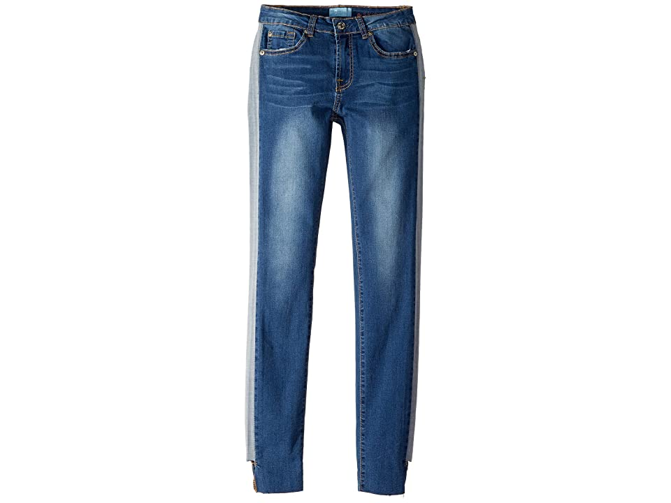 Image of 7 For All Mankind Kids B(Air) Skinny Jeans in Mojave Dusk (Big Kids) (Mojave Dusk) Girl's Jeans