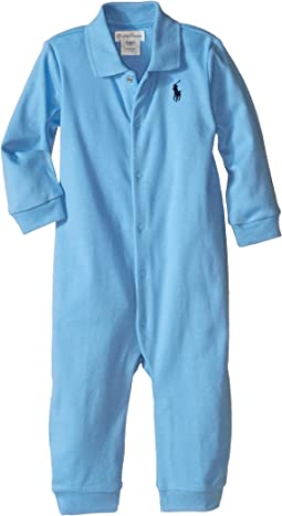 Interlock Solid Coveralls (Infant)