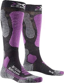 X-Socks, Ski Touring Silver 4.0 Women Calcetines De Invierno Calcetines De Esquí Mujer