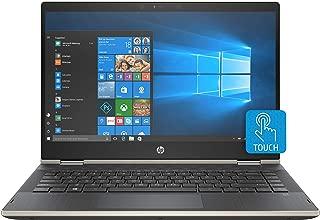 "HP Pavilion x360 Convertible, Pantalla de 14"" HD, Procesador Pentium 4415U, 8GB RAM, 128GB SSD, Sistema operativo Windows 10, Color Pale Gold (14-cd0024la)"