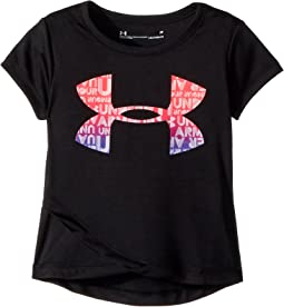 Under Armour Kids - Big Logo Cross Over Short Sleeve (Toddler)