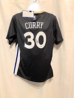 0f54677242b Stephen Curry Steph Golden State Warriors Signed Autograph Nike Alternate  Grey Swingman Jersey Steiner Sports Certified