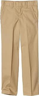Boys' Flex Waist Flat Front Pant