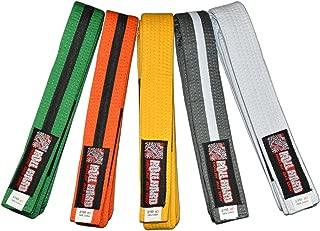 ROLL HARD Brand - Youth IBJJF Jiu Jitsu Belts and Sizes