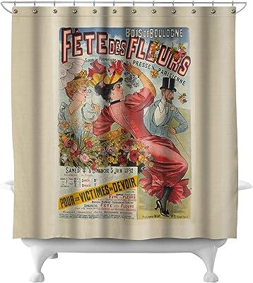 Fete des Fleurs Vintage Poster (artist: Anonymous) France c. 1892 (71x74