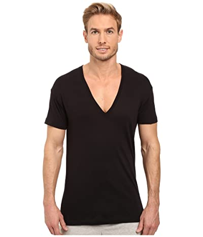 2(X)IST Pima Slim Fit Deep V-Neck T-Shirt