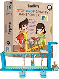 Smartivity Stop Drop Gravity Transporter for 8+ Years Boys and Girls, STEM, Learning, Educational and Construction Activit...