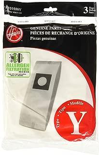 Hoover Type Y Allergen Bag (6-Pack), 4010100Y
