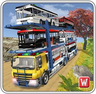 Police Bus Transporter Truck