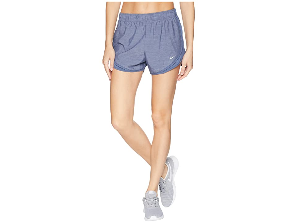 Nike Dry Tempo Short (Obsidian/Obsidian/Obsidian/Wolf Grey) Women