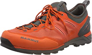 Mammut Alnasca Knit Low Men; Dark Orange-Graphite; US 13